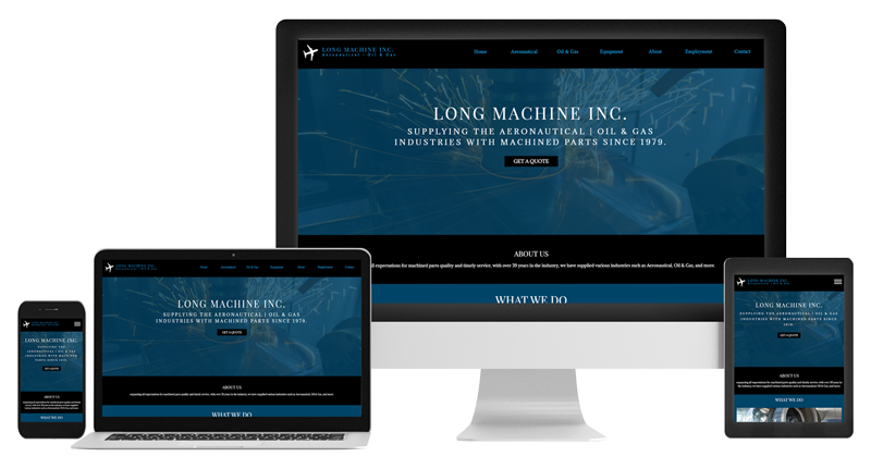 Long-Machine-Website-Design